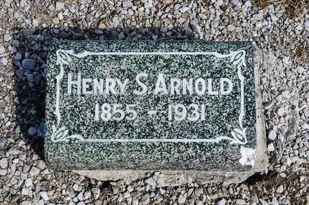 ARNOLD, HENRY S - Richland County, Ohio   HENRY S ARNOLD - Ohio Gravestone Photos