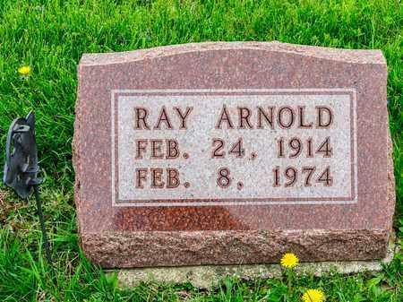 ARNOLD, RAY - Richland County, Ohio   RAY ARNOLD - Ohio Gravestone Photos
