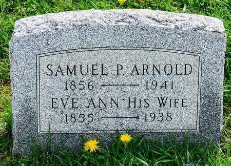 ARNOLD, SAMUEL P - Richland County, Ohio   SAMUEL P ARNOLD - Ohio Gravestone Photos
