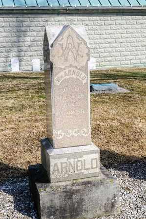 ARNOLD, WILLIAM - Richland County, Ohio   WILLIAM ARNOLD - Ohio Gravestone Photos