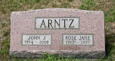 ARNTZ, ROSE JANE - Richland County, Ohio | ROSE JANE ARNTZ - Ohio Gravestone Photos