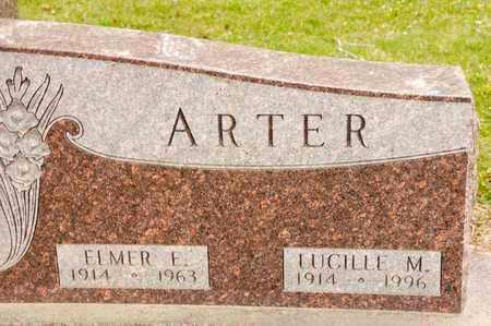 ARTER, ELMER E - Richland County, Ohio | ELMER E ARTER - Ohio Gravestone Photos