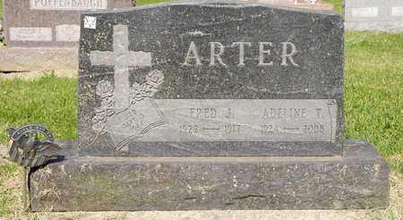 ARTER, FRED J - Richland County, Ohio   FRED J ARTER - Ohio Gravestone Photos