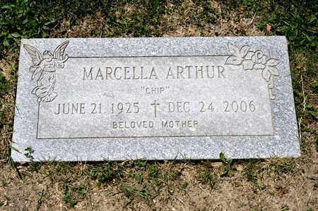 ARTHUR, MARCELLA - Richland County, Ohio | MARCELLA ARTHUR - Ohio Gravestone Photos