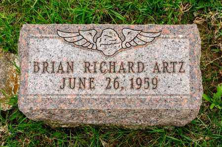 ARTZ, BRIAN RICHARD - Richland County, Ohio   BRIAN RICHARD ARTZ - Ohio Gravestone Photos