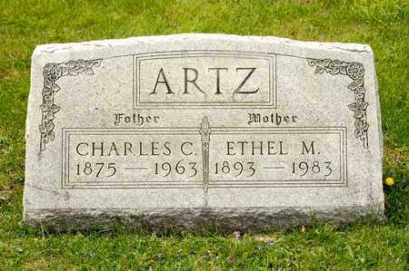 ARTZ, ETHEL M - Richland County, Ohio | ETHEL M ARTZ - Ohio Gravestone Photos