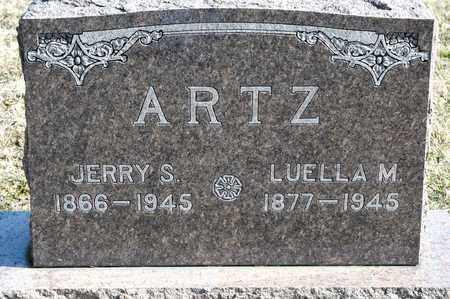 ARTZ, LUELLA M - Richland County, Ohio | LUELLA M ARTZ - Ohio Gravestone Photos
