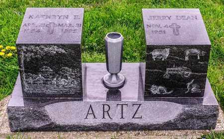 ARTZ, KATHRYN E - Richland County, Ohio | KATHRYN E ARTZ - Ohio Gravestone Photos