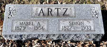 ARTZ, MABEL A - Richland County, Ohio | MABEL A ARTZ - Ohio Gravestone Photos