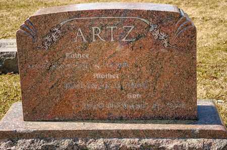 ARTZ, ROSCOE A - Richland County, Ohio | ROSCOE A ARTZ - Ohio Gravestone Photos