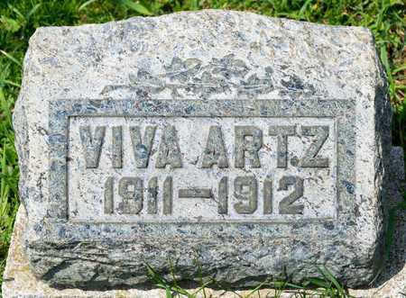 ARTZ, VIVA - Richland County, Ohio   VIVA ARTZ - Ohio Gravestone Photos