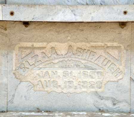 ASHBAUGH, ELZA A - Richland County, Ohio | ELZA A ASHBAUGH - Ohio Gravestone Photos