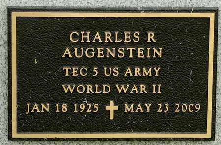 AUGENSTEIN, CHARLES R - Richland County, Ohio | CHARLES R AUGENSTEIN - Ohio Gravestone Photos