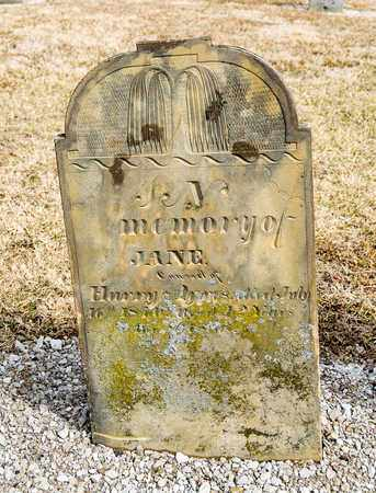 AYRES, JANE - Richland County, Ohio | JANE AYRES - Ohio Gravestone Photos
