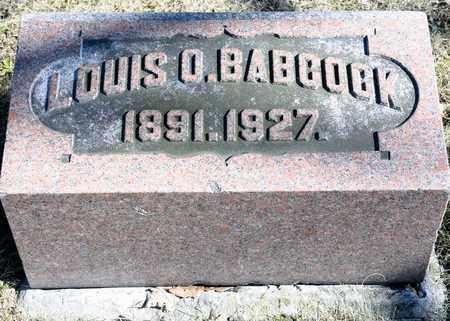 BABCOCK, LOUIS O - Richland County, Ohio | LOUIS O BABCOCK - Ohio Gravestone Photos