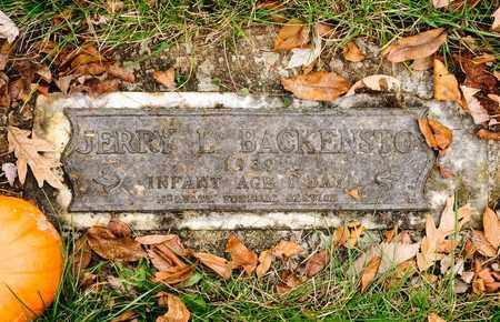 BACKENSTO, JERRY L - Richland County, Ohio | JERRY L BACKENSTO - Ohio Gravestone Photos