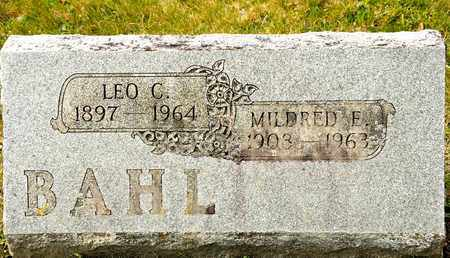 BAHL, LEO C - Richland County, Ohio   LEO C BAHL - Ohio Gravestone Photos