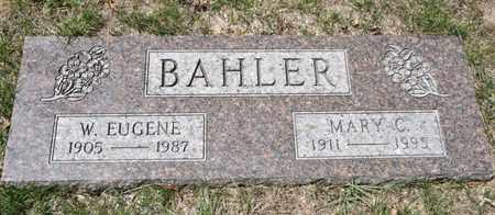 BAHLER, MARY C - Richland County, Ohio | MARY C BAHLER - Ohio Gravestone Photos