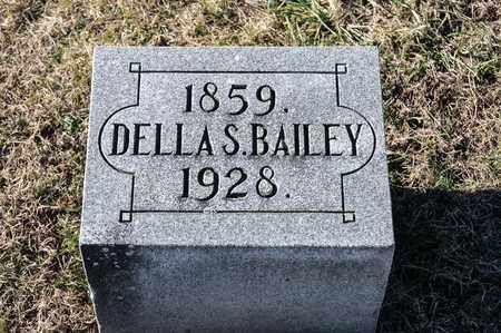 BAILEY, DELLA S - Richland County, Ohio | DELLA S BAILEY - Ohio Gravestone Photos