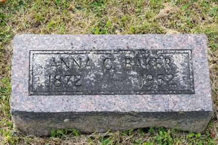 BAKER, ANNA C - Richland County, Ohio | ANNA C BAKER - Ohio Gravestone Photos