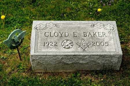 BAKER, CLOYD E - Richland County, Ohio | CLOYD E BAKER - Ohio Gravestone Photos