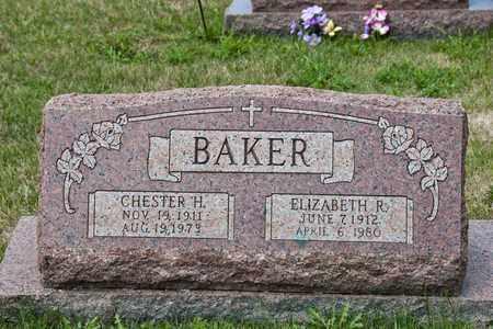 BAKER, ELIZABETH R - Richland County, Ohio | ELIZABETH R BAKER - Ohio Gravestone Photos