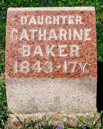 BAKER, CATHARINE - Richland County, Ohio | CATHARINE BAKER - Ohio Gravestone Photos