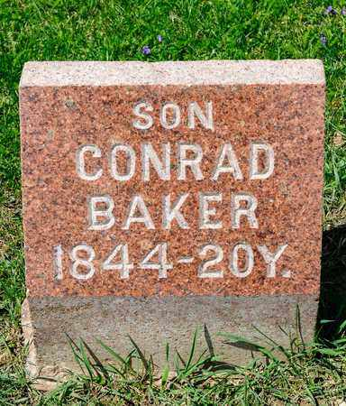 BAKER, CONRAD - Richland County, Ohio | CONRAD BAKER - Ohio Gravestone Photos
