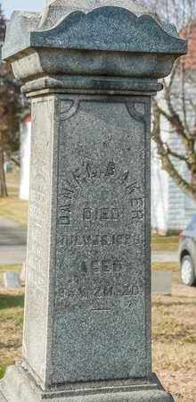 BAKER, DANIEL - Richland County, Ohio | DANIEL BAKER - Ohio Gravestone Photos