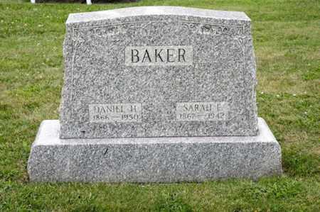 BAKER, SARAH E - Richland County, Ohio | SARAH E BAKER - Ohio Gravestone Photos
