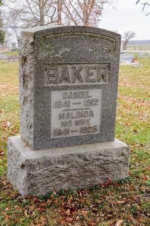 BAKER, DANIEL - Richland County, Ohio   DANIEL BAKER - Ohio Gravestone Photos