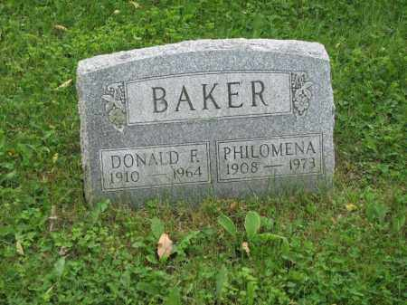 BAKER, DONALD F. - Richland County, Ohio | DONALD F. BAKER - Ohio Gravestone Photos