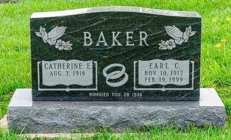 BAKER, EARL C - Richland County, Ohio   EARL C BAKER - Ohio Gravestone Photos