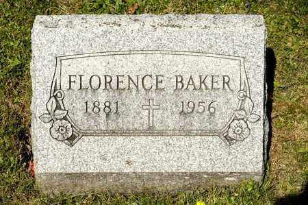 BAKER, FLORENCE - Richland County, Ohio | FLORENCE BAKER - Ohio Gravestone Photos