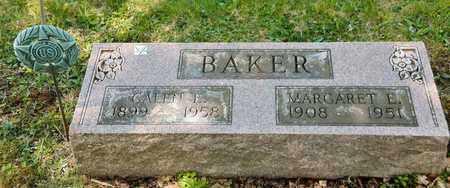 BAKER, MARGARET E - Richland County, Ohio   MARGARET E BAKER - Ohio Gravestone Photos