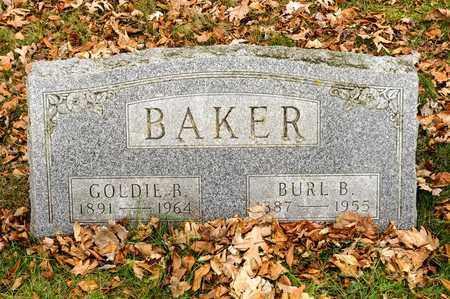 BAKER, GOLDIE B - Richland County, Ohio   GOLDIE B BAKER - Ohio Gravestone Photos