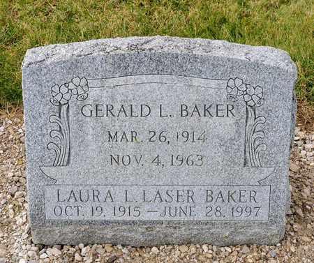 BAKER, LAURA L - Richland County, Ohio | LAURA L BAKER - Ohio Gravestone Photos