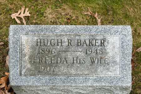BAKER, HUGH R - Richland County, Ohio | HUGH R BAKER - Ohio Gravestone Photos