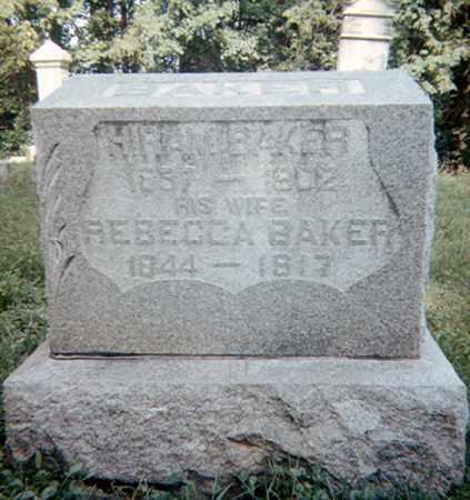 GOODELL BAKER, REBECCA - Richland County, Ohio | REBECCA GOODELL BAKER - Ohio Gravestone Photos