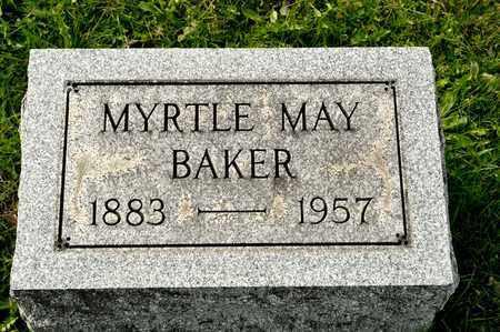 BAKER, MYRTLE MAY - Richland County, Ohio   MYRTLE MAY BAKER - Ohio Gravestone Photos
