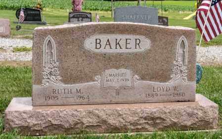 BAKER, LOYD W - Richland County, Ohio | LOYD W BAKER - Ohio Gravestone Photos