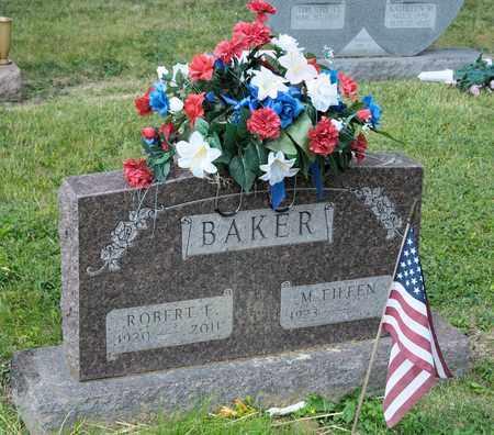BAKER, ROBERT E - Richland County, Ohio | ROBERT E BAKER - Ohio Gravestone Photos
