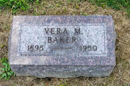 BAKER, VERA M - Richland County, Ohio | VERA M BAKER - Ohio Gravestone Photos