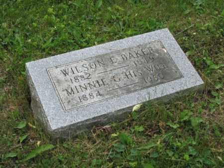 BAKER, WILSON E. - Richland County, Ohio | WILSON E. BAKER - Ohio Gravestone Photos