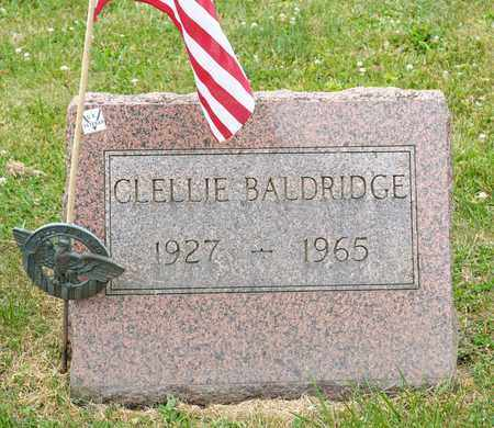 BALDRIDGE, CLELLIE - Richland County, Ohio | CLELLIE BALDRIDGE - Ohio Gravestone Photos