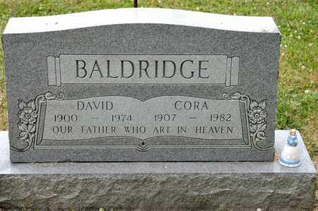 BALDRIDGE, CORA - Richland County, Ohio | CORA BALDRIDGE - Ohio Gravestone Photos