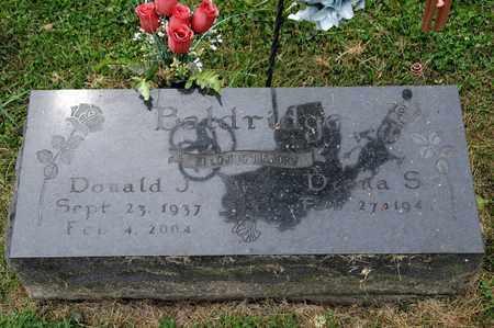 BALDRIDGE, DONALD J - Richland County, Ohio | DONALD J BALDRIDGE - Ohio Gravestone Photos