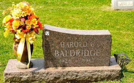 BALDRIDGE, HAROLD C - Richland County, Ohio | HAROLD C BALDRIDGE - Ohio Gravestone Photos
