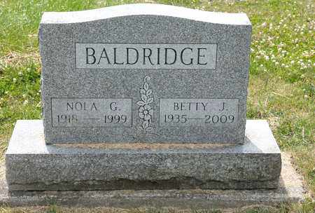 BALDRIDGE, BETTY J - Richland County, Ohio   BETTY J BALDRIDGE - Ohio Gravestone Photos
