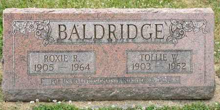 BALDRIDGE, ROXIE - Richland County, Ohio | ROXIE BALDRIDGE - Ohio Gravestone Photos